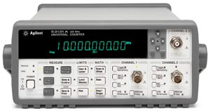 Keysight (formerly Agilent T&M)  53132A Universal Frequency Counter