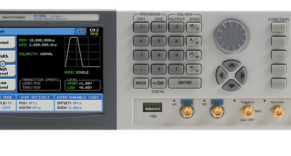81180A 4.2 GSa/s Arbitrary Waveform Generator