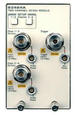 Keysight (formerly Agilent T&M)  83484A Dual Channel 50 GHz Electrical Module Rental