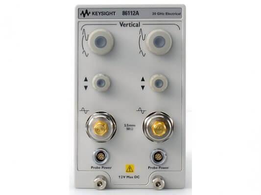 Keysight 86112A 20 GHz Dual Channel Electrical Module
