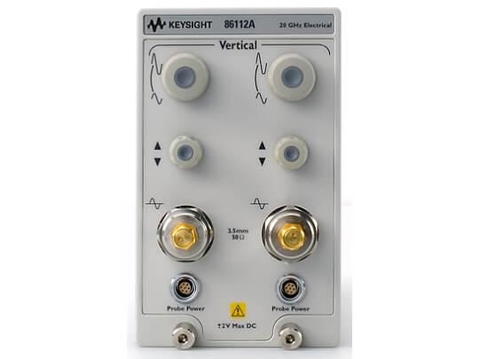 Keysight (formerly Agilent T&M)  86112A 20 GHz Dual Channel Electrical Plug-In Module Rental
