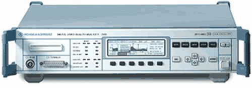 Rohde & Schwarz DVQ Digital Video Quality Analyzer