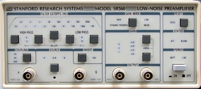 Stanford Research Systems SR560 Low Noise Preamplifier