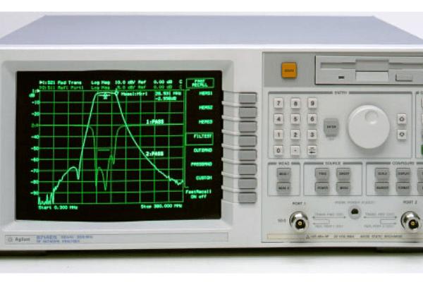 Keysight (formerly Agilent T&M)  8714ET 300 KHz To 3 GHz Network Analyzer Rental