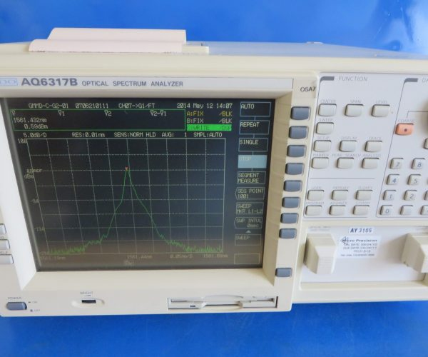 Ando AQ6317B Optical Spectrum Analyzer