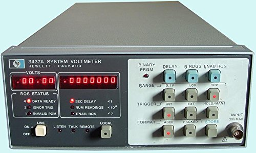 Keysight (formerly Agilent T&M) 3437A System Voltmeter Rental