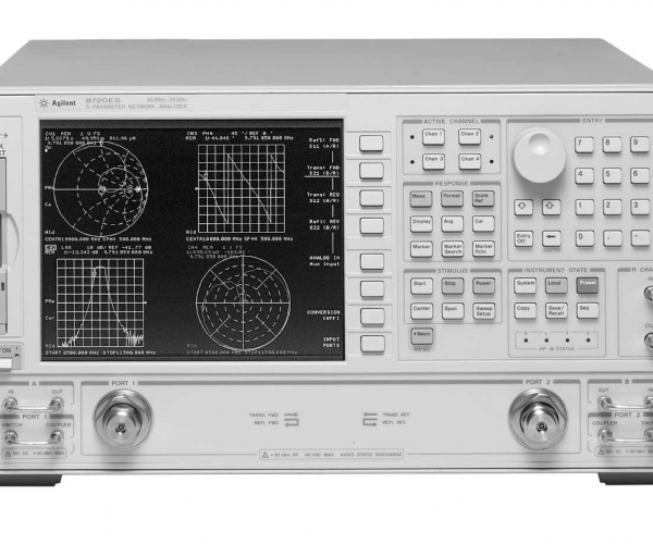 Keysight (formerly Agilent T&M) 8720ES-1D5-010-012 S-parameter Network Analyzer, 50 MHz To 20 GHz