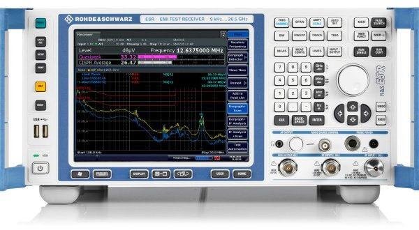 Rohde & Schwarz ESR7 EMI Test Receiver, 9 KHz To 7 GHz