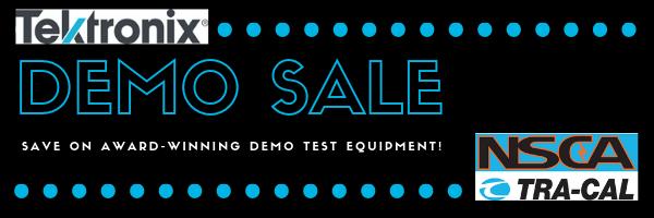 Tektronix Demo Sale