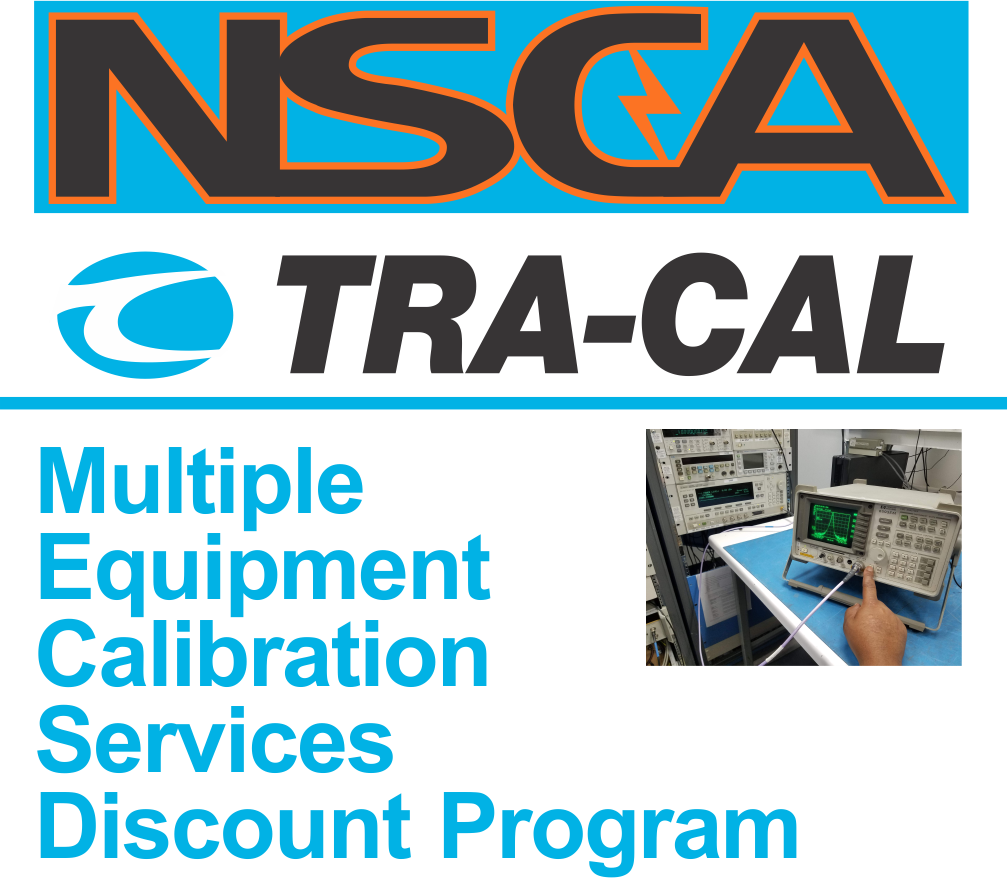 Multiple Equipment Calibration Discount Program