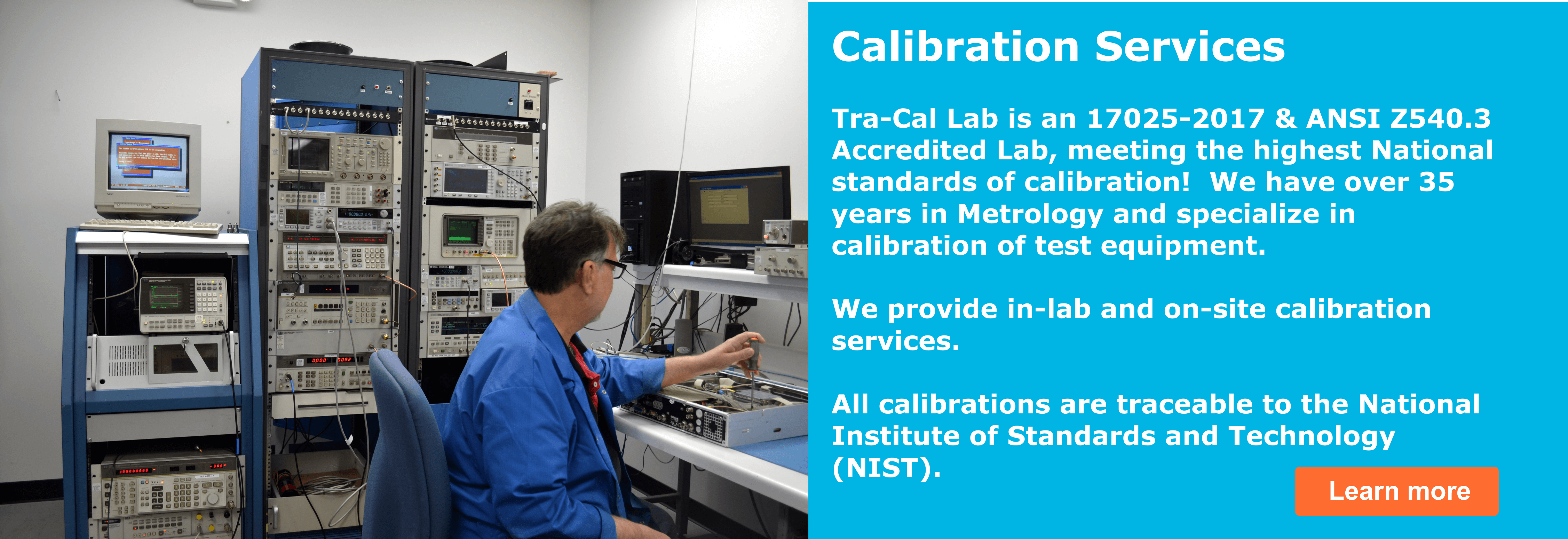 onsite calibration services