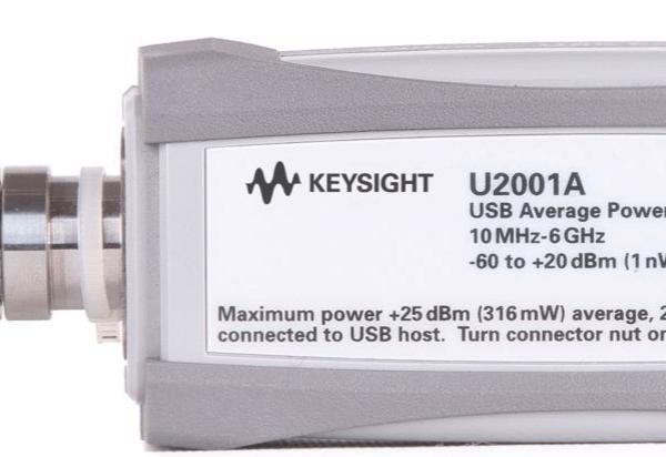 Keysight (formerly Agilent T&M) U2001A 10 MHz – 6 GHz USB Power Sensor