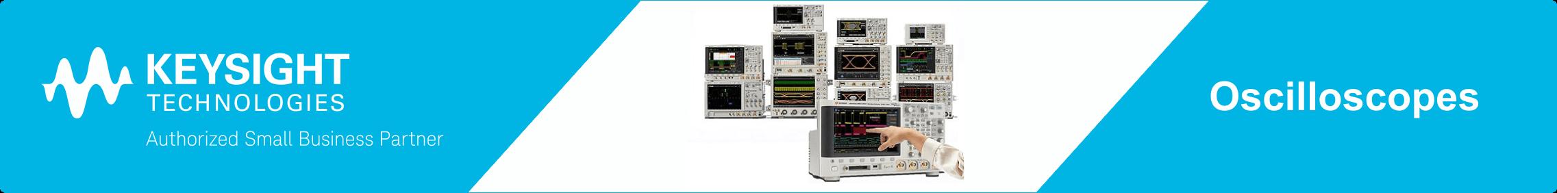 Keysight Oscilloscopes web banner