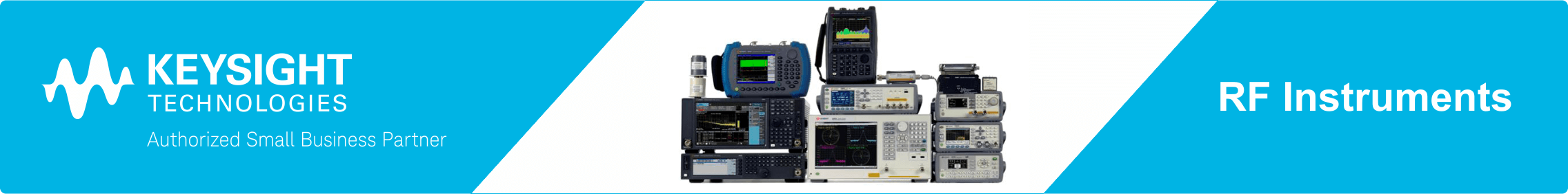 Keysight RF Instruments web banner
