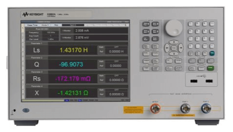 Keysight (formerly Agilent T&M) E4982A-019-300 LCR Meter, 1 MHz To 3 GHz