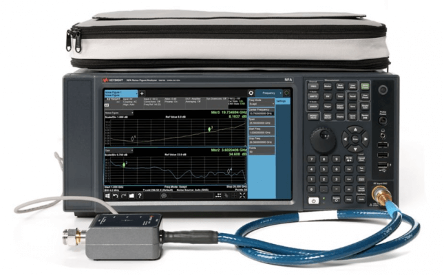 N8975B Noise Figure Analyzer, Multi-touch, 10 MHz to 26.5 GHz